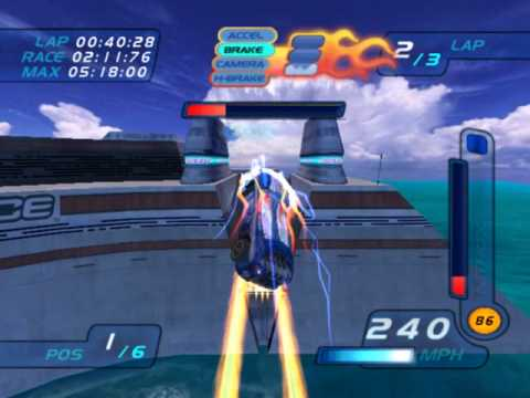 Hot Wheels World Race Level 8 of 15 Deep Zone