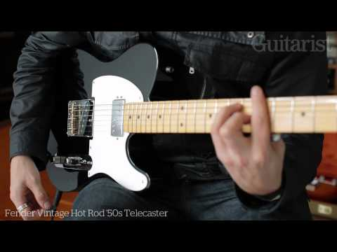 Fender Vintage Hot Rod '50s & '60s Telecaster electric guitar demo Music Videos