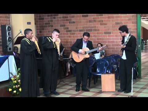 Presentación Música - Parte 2 - Ceremonia de Graduacion 2014 - Colegio San Cayetano Cali