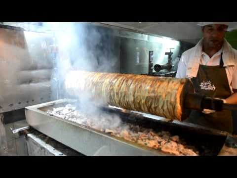 The best Shawarma in the world in Aqaba Jordan - street food