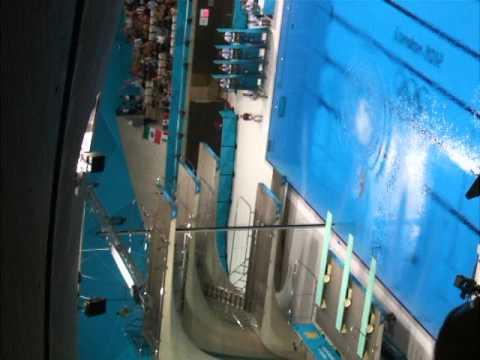 London 2012 Olympic Womens 10 meter diving final