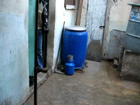 Inside a home in the Gaza refugee camp (Jerash, Jordan)