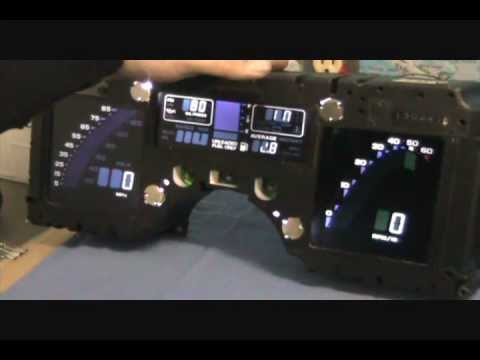 Corvette C4 Digital Cluster Display With Led Bulb Upgrade