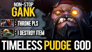 Timeless Pudge God Magnetic Hooks Non-Stop Ganking Midlane | Pudge Official