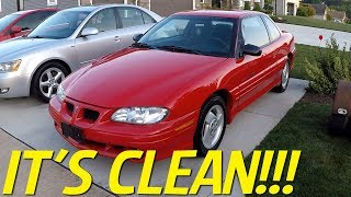 $250 Pontiac Grand Am Project: IT'S CLEAN! And Updates....