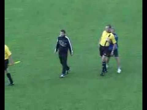 الحكم السكران فى روسيا البيضاء(Drunk referee)