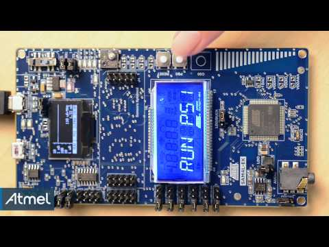 Showcasing the Low-Power Features of SAM4L Microcontrollers with the SAM4L-EK