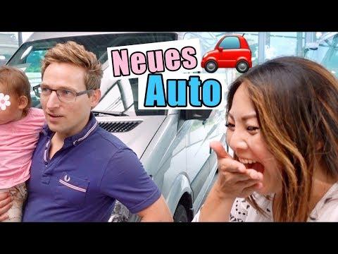 Neues AUTO! Überraschung & Live Reaktion | Lili läuft | Familienauto für 3 Kinder | Mamiseelen