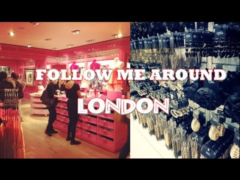Follow me Around LONDON ❤ Shopping-Time