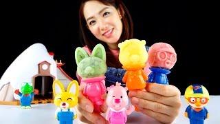 [쿠키토이] 앗! 뽀로로가 얼어버렸네!!♥뽀로로 아이스바 만들기♥장난감 놀이