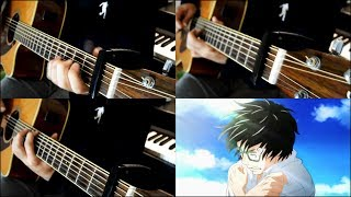 March comes in like a lion - 2nd Season - Opening - Flag wo Tatero [YUKI] (Guitar Cover)