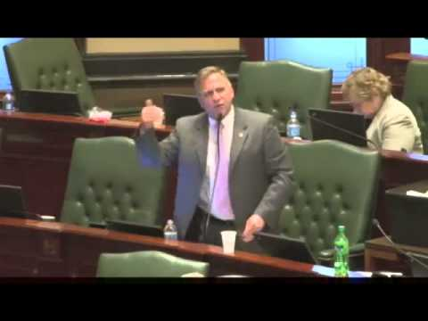 Mike Bost Passionate Fight for 2nd Amendment to Illinois Legislature