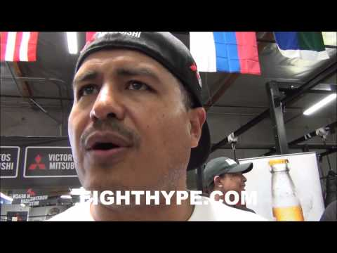 ROBERT GARCIA SAYS MAIDANA STILL UNDECIDED ON GLOVES FOR REMATCH HE STILL HASNT AGREED