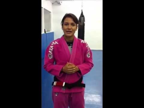 Kyra Gracie Endorsement of Zed Chierighini
