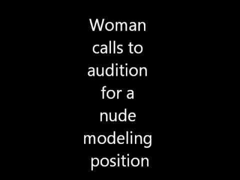 Woman calls to audition for a nude modeling position