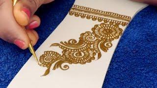 Mehndi Design for Hands | Easy Floral Mehndi Design For Hands by Sonia Goyal #013