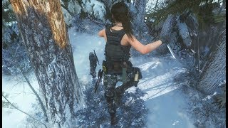 Rise of the Tomb Raider: Stealth Gameplay Kills & Action Moments - Compilation Vol.2 (Xbox One X)