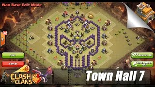 Clans Best Trophywar Base Town Hall 6 Best Defensive Base Ever