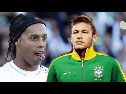 Ronaldinho Vs Neymar | Best Skills 2013 | Who is better ?