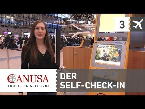 CANUSA erklärt: Self-Check-In am Flughafen | CANUSA