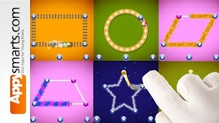 Shapes Toddler Preschool - Tracing Game for kids