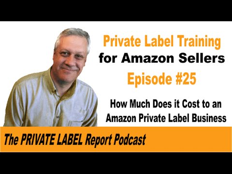 How much does it cost to start an Amazon FBA Private Label Business