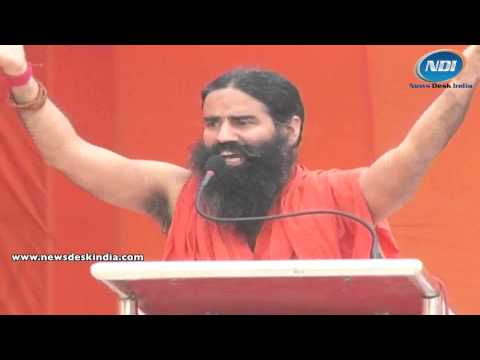 Ramdev slams government for black money issue