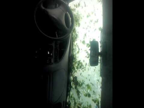 Video: la supertormenta del jueves desde un auto