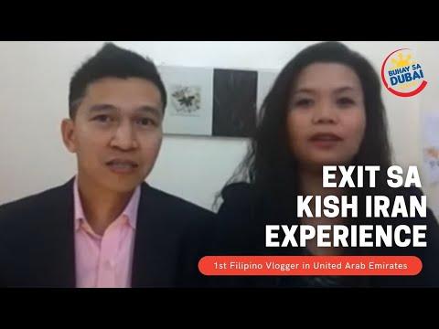 Buhay Sa Dubai Stories  || Pinay Exit In Kish Iran Experience video