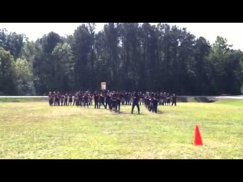 Rudd Middle School Pep Rally 2013