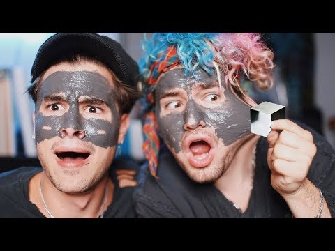 GUYS TRY GIRL PRODUCTS 3 (MAGNETIC FACE MASK BLOWS OUR MINDS!!)