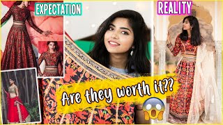 I Tried Lehengas From GETHATLOOK.COM| Are They Worth The Price??? 🤔😳Shopping Lehengas Online