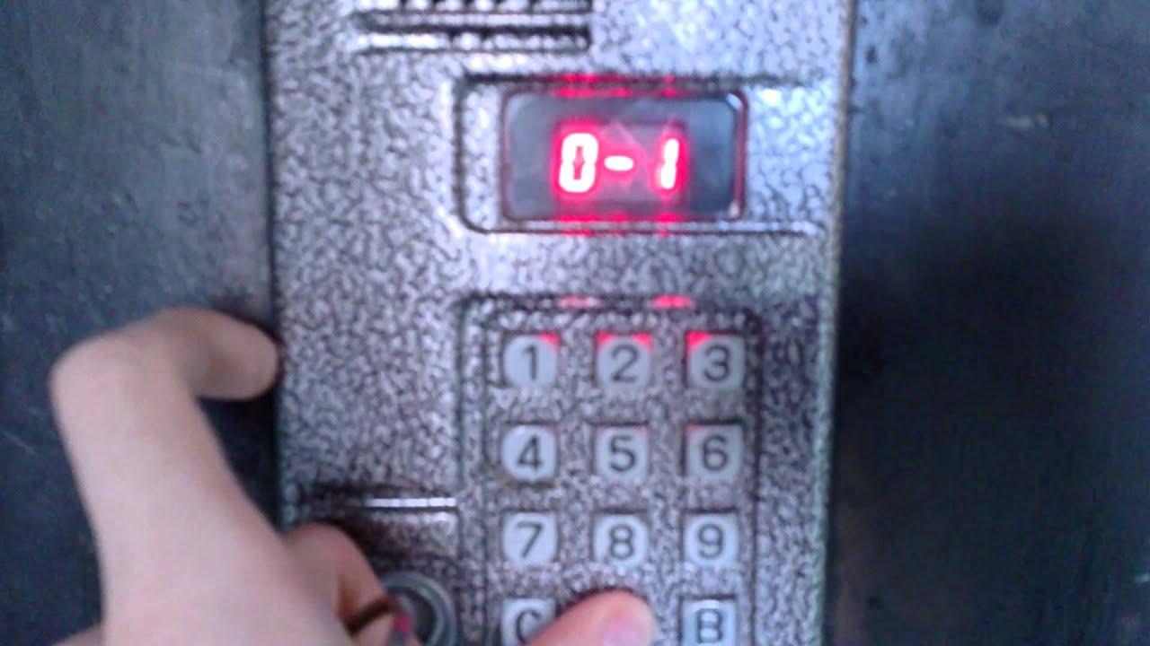 Как взломать домофон? сброс пароля домофона МК20.2.