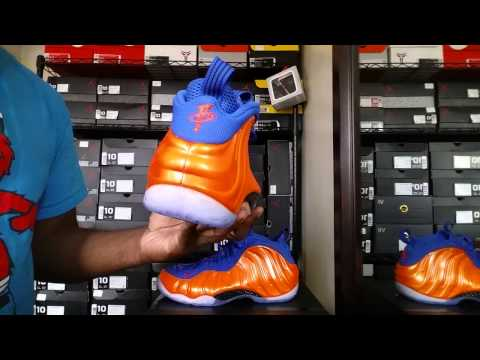Was The Nike Foamposite 'Knicks' Worth Copping? Detailed Video Review