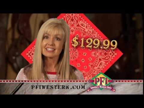 PFI Bandana Boot Sale (2014) TV spot