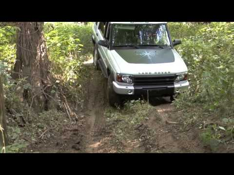 Land rovers off road