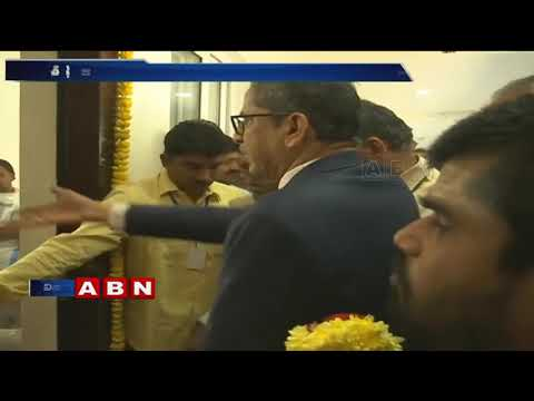 CM Chandrababu Participates in AP Temporary High Court Inauguration Event | ABN Telugu