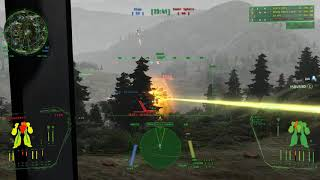 Mechwarrior Living Legends Chaos March B402 Blakists Attack Hall Map 1 Clearcut