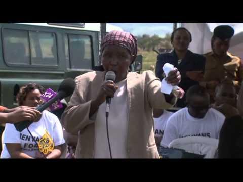 ICC prosecutor visits Kenyan victims of violence