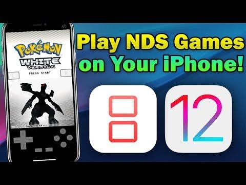 How To Install iNDS Nintendo DS Emulator on iOS 12.0 - 12.1.3 (No Jailbreak & No Computer)