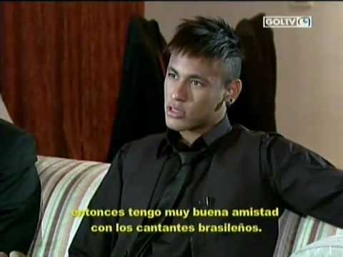 Neymar habla de Messi