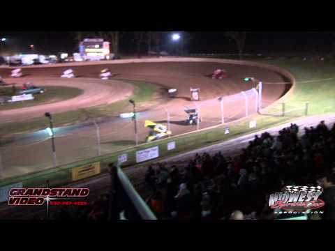 MSA Sprint car Highlights 4-27-13