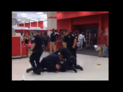 NYPD cops beat man inside Target