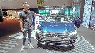 Khám nhanh xe Audi A8 2018 tại Singapore   XEHAY.VN