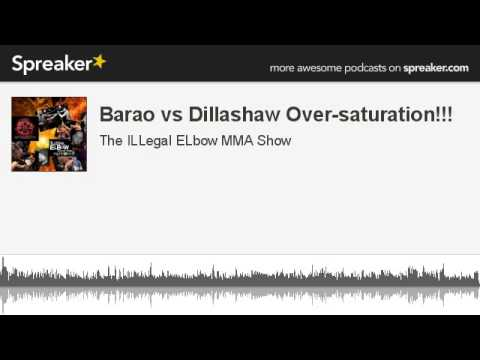 Barao vs Dillashaw Oversaturation made with Spreaker
