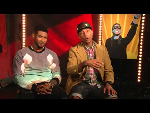 Usher and Pharrell Williams' Official