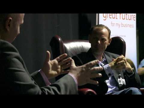 """Lawrence Tomlinson, LNT Group: """"Unplugged"""" live audience interview"""