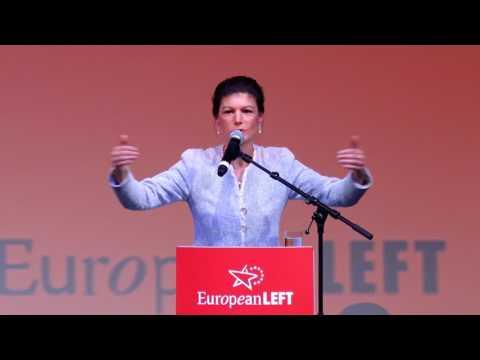 Sahra Wagenknecht: Wirtschaftsmacht attackieren, Deutschland sozialer und friedlicher machen