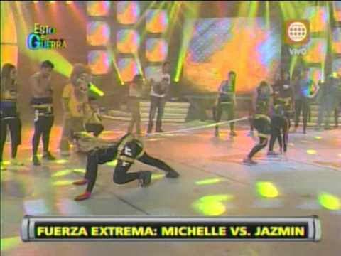 Esto es Guerra: Michelle y Jazmín se enfrentan en 'Fuerza Extrema' - 27/06/2013