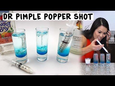 The Dr Pimple Popper Shot - Tipsy Bartender